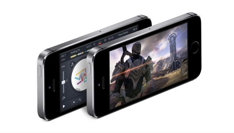 【限时抢购】苹果iPhone5S(金色版)指纹识别手机光揉图片