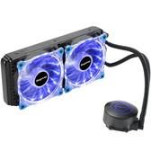鑫谷水凌霜 水冷散热器一体式120/240水排台式机电脑cpu散热器