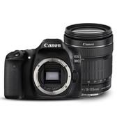 佳能(Canon)EOS 80D EF-S 18-135mm f/3.5-5.6 IS USM防抖镜头