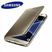 【三星授权专卖 】三星 GALAXY S7 Edge镜面保护套GALAXY S7 edge手机套保护套 流畅设计,优雅美观 便捷浏览,保护隐私 防指纹