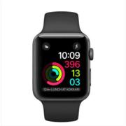 【apple授权专卖】WATCH SerieS2 42mm(MQ182)煤黑配黑色