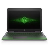 【顺丰包邮】惠普 OMEN 15-AX239TX(1DF62PA)暗影绿 15.6英寸游戏笔记本(i5-7300HQ 8G 128GSSD+1T GTX1050 2G独显 IPS FHD)