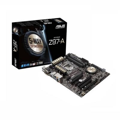 华硕 Z97-A  主流八相 供电  支持N卡  SLI  支持4790K 超频  支持M2 接口 固态