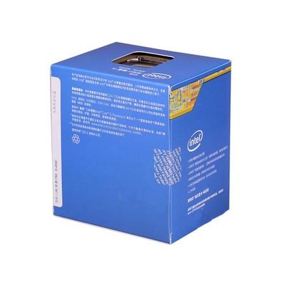 Intel 酷睿i5 4590(盒)22纳米 Haswell架构盒装CPU处理器 (LGA1150/3.3GHz/6M三级缓存) INTEL 三年 免费换新