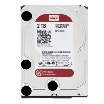 西部数据 2TB 7200转 64MB SATA3 红盘(WD20EFRX)