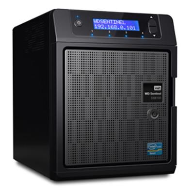 西部数据(WD) Sentinel DS6100 12TB 超紧凑存储服务器(WDBWVL0120KBK)
