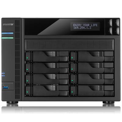 华芸 AS-608T 八盘位NAS网络存储服务器(不含硬盘)