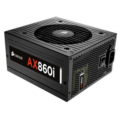 海盗船 AX860i 白金全模组数字电源 额定860w 电脑静音电源