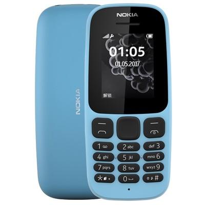 诺基亚手机105 新款 移动联通手机 老人机直板按键老年机备用机