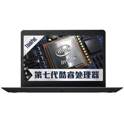 【行货保证】联想ThinkPad笔记电脑 E470(20H1A01GCD)便携笔记本 商务本 黑色(I3-7100U-4G-SSD256G-2G)