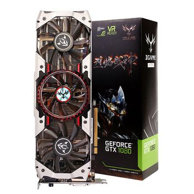 七彩虹 iGame 1080 烈焰战神X-8GD5X Top 游戏电脑显卡 8G 金属背板