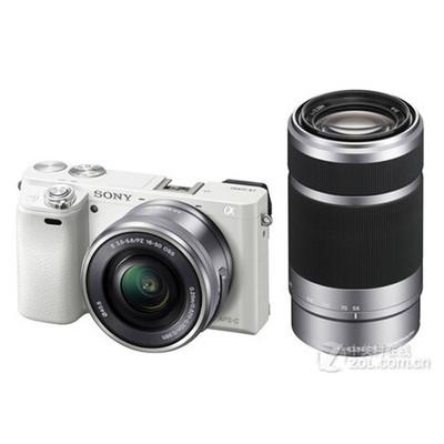sonyA6000(16-50,55-210)套机,索尼 ILCE-6000套机(E PZ 16-50mm,55-210mm)*,更完善的售后服务,尽在锐意摄影器材。