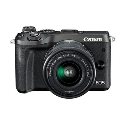 佳能(Canon)EOS M6微单 微型可换镜数码相机EF-M 15-45mm镜头 套机