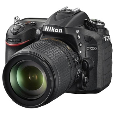 尼康(Nikon)D7200 AF-S DX 18-105mm f/3.5-5.6G ED VR 防抖镜头)