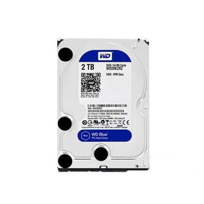 西部数据 蓝盘2TB SATA6Gb/s 64M(WD20EZRZ) 三年质保 台式机通用