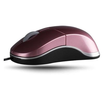 雷柏 N6000有线鼠标 有线光学鼠标 彩色