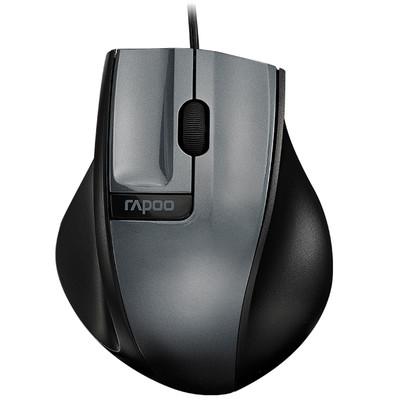 雷柏 N3000有线鼠标 光学鼠标