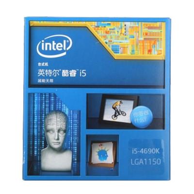 Intel 酷睿i5 4690K 四核利器 搭配Z97主板 内存 进一步挖掘性能 不锁频