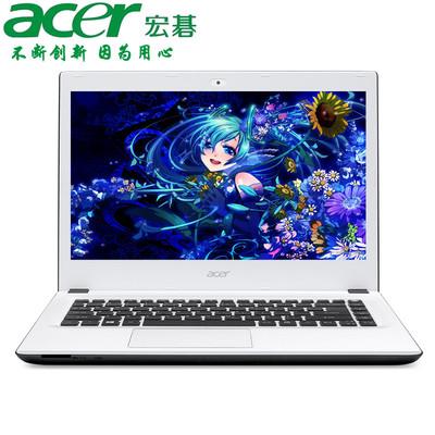 【官方授权 顺丰包邮】Acer K4000-58CM 14英寸多彩影音本 i5-6200U 4GB 500GB NVIDIA GeForce 920M -2G 预装Windows 10 黑白色
