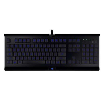 【包邮】雷蛇Razer 萨诺狼蛛专业版游戏键盘,3色背光 防泼溅设计 坚固耐用 飞敏宏录制键