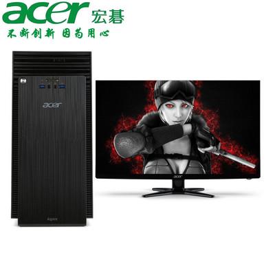 【官方授权 顺丰包邮】Acer ATC705-N80  立式家用台式机 酷睿i3-4170 4GB 1TB 预装Windows 8.1 显示器可选配