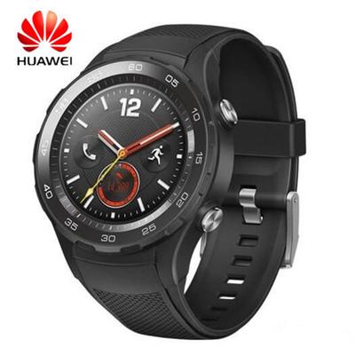华为 WATCH 2 4G版 华为二代只能蓝牙手表  GPS心率NFC支付 送钢化膜