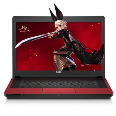 【顺丰包邮】戴尔 灵越 14 7000(INS14PD-1848R)14英吋笔记本电脑(i7-4710HQ 8G 8G+1TB GTX850M 4G独显 高清屏 Win8)红