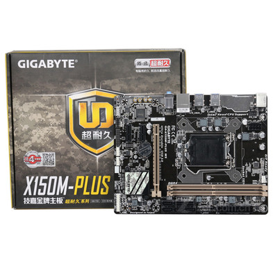 技嘉(GIGABYTE)X150M-PLUS WS主板 (Intel C232) 支持 1230 V5 酷睿