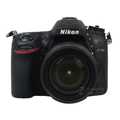 尼康(Nikon) D7100 单反套机 (AF-S DX 18-200mm f/3.5-5.6G ED VR II 防抖镜头)