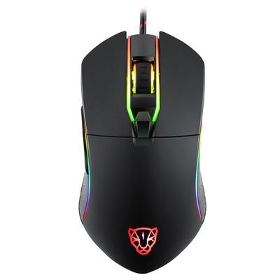 摩豹 V30 电竞游戏RGB发光有线鼠标LOL/CF 小苍miss小智外设