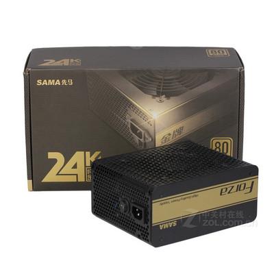 先马 750W 金  全模组电源  静音  支持 双显卡