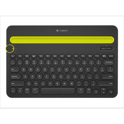 【包邮】罗技 K480无线蓝牙键盘,蓝牙3.0技术 多平台连接 3设备切换