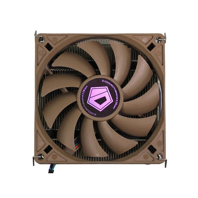 ID-COOLING IS-VC45 Intel薄型下吹CPU散热器 均热板9cm温控静音风扇兼容ITX平台