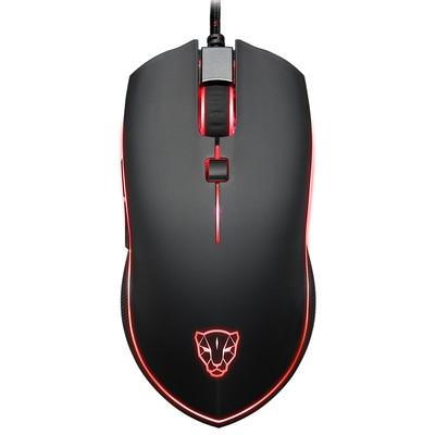 摩豹V40电竞游戏RGB发光自定义宏网吧网咖游戏鼠标lol cf*包邮