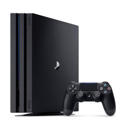 【破解版拷满游戏】 索尼 PS4 Pro(CUH-7009B/1TB)