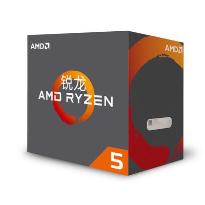 锐龙 AMD Ryzen 5 1600X 处理器6核AM4接口 3.6GHz 盒装