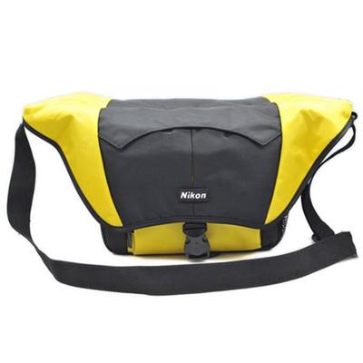 尼康 (Nikon) 单反相机包 单肩包 斜跨包 适用d750,d610, d7200 d7100 d5500 d5300 d3300 d810