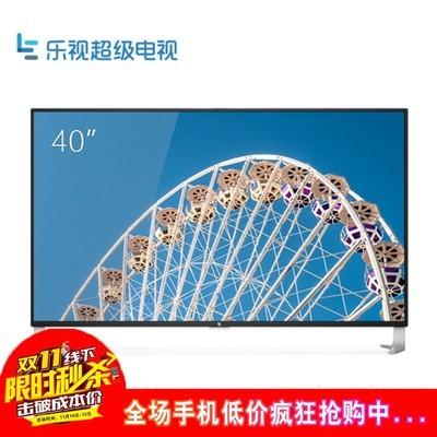 乐视 电视 超级电视 超4 X40 中超版 生态版 底座版 黑色