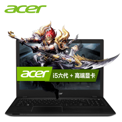 【顺丰包邮】Acer F5-572G-56KV     15.6英寸 游戏笔记本电脑 i5-6200U 940M 2G显卡 4G内存 500G硬盘