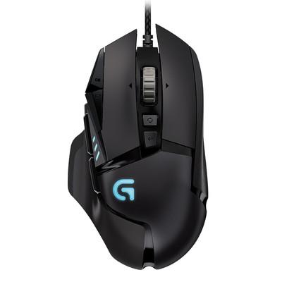 罗技G502有线自适应游戏鼠标LOL竞技游戏可编程守望先锋RGB鼠标