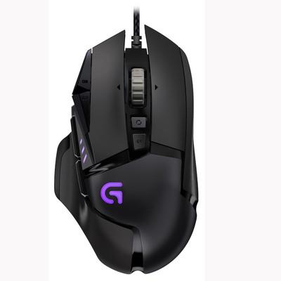 罗技 G502 RGB炫光自适应游戏鼠标