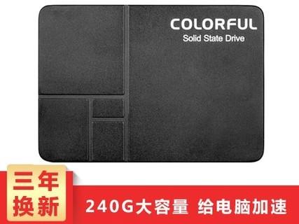Colorful/七彩虹 SL300 120G /128G /240G SSD笔记本台式固态硬盘 SL300 320G SSD