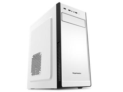 【甲骨龙】G3900/R7 4G独显/DIY台式组装电脑 游戏组装电脑整机 套餐一G3900