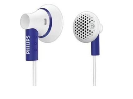 飞利浦(Philips)SHE3000 超薄耳塞式耳机 白色