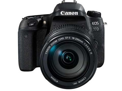 佳能(Canon) EOS 77D 单反套机(18-200IS)