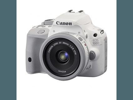 佳能100d (EF 40mm f/2.8 STM)白色