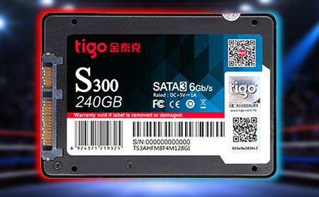 金泰克S300 240G SATA3 固态硬盘