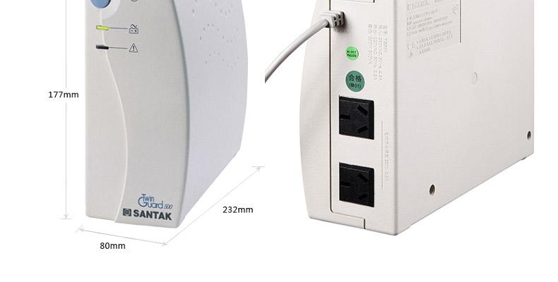 深圳山特ups电源tg500现货销售 500va电源办公应用